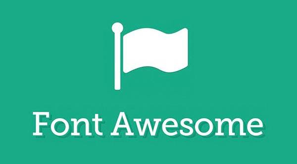 Awesome font icons