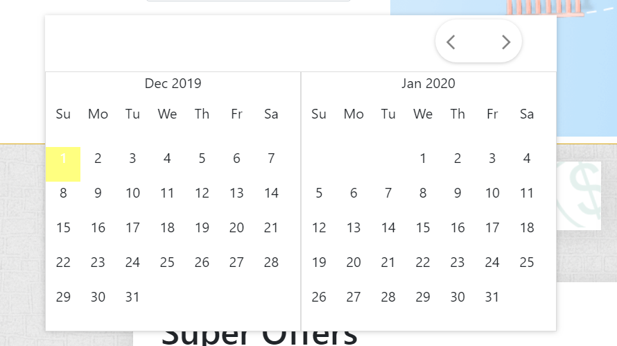 Create you own calendar in php
